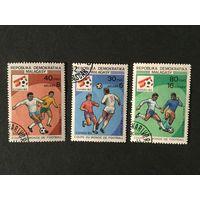 Чемпионат мира по футболу в Испании. Мадагаскар,1982, серия 3 марки
