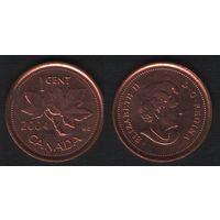 Канада _km490 1 цент 2004 год km490 не магнит (f33)
