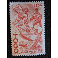 Колония Франции Того 1947г.