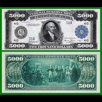 [КОПИЯ] США 5000 долларов 1918г.