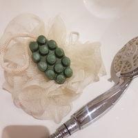 Мыло-скраб ручной работы с частичками люфы