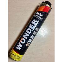 Пена монтажная 750мл профессиональная всесезонная WUNDER Foam