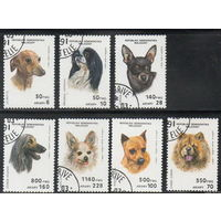 Мадагаскар. Малагасия. 1991. Собаки. Полная серия