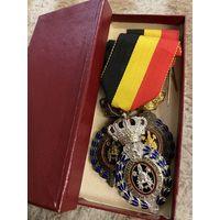 Бельгийские ордена (3 шт.) 1950-60 гг.