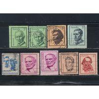 Австралия 1968-70 Знаменитые австралийцы Э.Дэвид А.Наматжира Э.Патерсон Р.и Д.Дунгэны А.Гордон Л.Маккуори Э.Эйр Стандарт #411-3,457-60