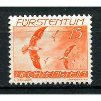 Лихтенштейн - 1939 - Птицы. Черноголовая чайка  - [Mi.174] - 1 марка. MH.  (Лот 40N)