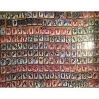 Хоккейные карточки. 230 штук. Официальные КХЛ. Сезон 2010-2011.