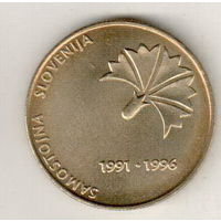 Словения 5 толар 1996 5 лет независимости Словении