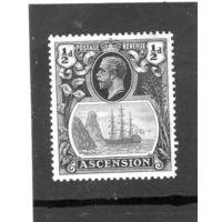 Остров вознесения. Ми-10. Король Георг VI. Торговый корабль.1924