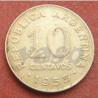 6306:  10 сентаво 1955 Аргентина