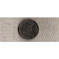 Германия 5 пфеннигов 1920 A(Ah)