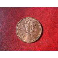 1 цент 2004 год Барбадос