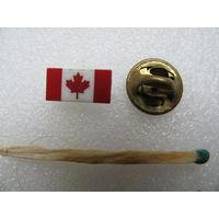 Знак - фрачник. Флаг Канада (цанга)