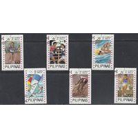 Филиппины 1984 Mi 1594-1605 Олимпийские игры Лос-Анджелес Паруса ГАШ