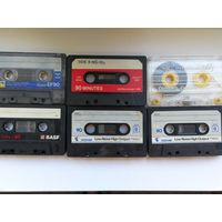 Аудиокассеты 6 шт.