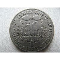 Западная Африка 50 франков 1972 г.
