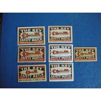 Спичечные этикетки ЧССР  (экспорт)