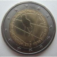 Португалия 2 евро 2019 г. 600 лет открытию острова Мадейра