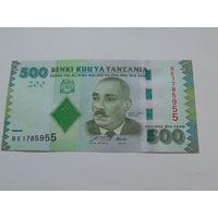 500 шиллингов Танзания
