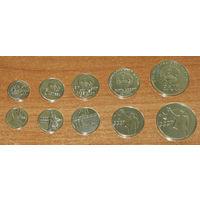ПМР 100 лет сов. власти в Приднестровье компл 5 монет частный выпуск UNC