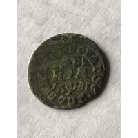 Деньга Петровская 1717