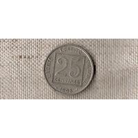 Франция 25 сантимов 1903//(Oct)