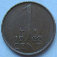 Нидерланды, 1 цент 1969 г