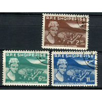 Албания - 1959 - Неделя культуры. Амфитеатр в Бутринте - [Mi. 572-574] - полная серия - 3 марки. Гашеные.