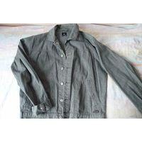 Куртка джинсовая или под джинс (х/б 100%),
