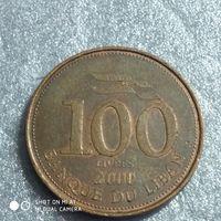 G Ливан 100 ливр 2000 г.