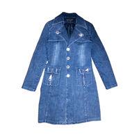 Пиджак  женский джинсовый Jan He Fashion