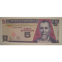 Гватемала 5 кетсалей 2003 г. (g)