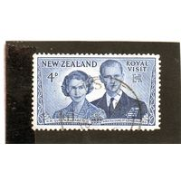 Новая Зеландия.Ми-331.Королевский визит королевы Елизаветы II. 1953
