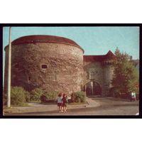 1972 год Таллинн Предвратные укрепления ворот