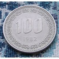 Старая Южная Корея 100 вон 1982 года