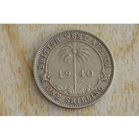 Британская Западная Африка 1 шиллинг 1940