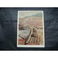 Китай .Строительство железной дороги Ланьчжоу-Алма-Ата.