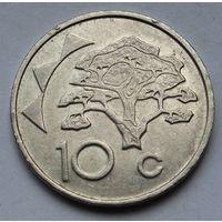 Намибия, 10 центов 2002 г.