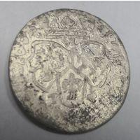 6 Грошей ( Шестак ) 1662