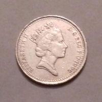 10 пенсов, Великобритания 1992 г.