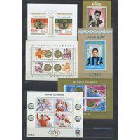 РАСПРОДАЖА!!! МНОГИЕ ЛОТЫ с 1 рубля!!! НА МНОГИЕ ПОЗИЦИИ ЦЕНЫ СНИЖЕНЫ!!! СЛЕДИТЕ ЗА МОИМИ ЛОТАМИ-планируется снова выставить часть марок с 1 рубля!!! СПОРТ.ОЛИМПИАДА.Два скана БЛОКОВ** за Вашу цену!!!