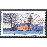 2017 - почтовая марка  -  Рождество - Церковь Марии Раст, Крюн  -  Германия