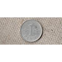 Финляндия 1 пенни 1977(Oct)