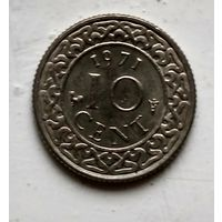 Суринам 10 центов, 1971 2-12-61