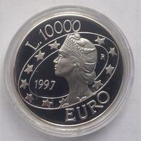 Сан Марино 10000 лир 1997г