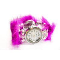 Часы браслет с опушкой Mary