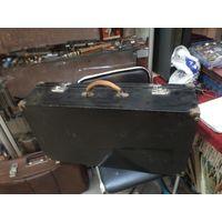 Старый фанерный чемодан 70*38*17 см