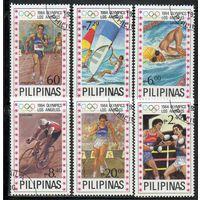 Спорт Филиппины 1984 год серия из 6 марок