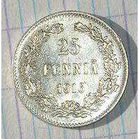 Русская Финляндия, 25 Пенни 1916 (80)