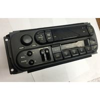 Автомагнитола P56038931AB. Магнитола заводская штатная от Крайслер Вояджер. Chrysler